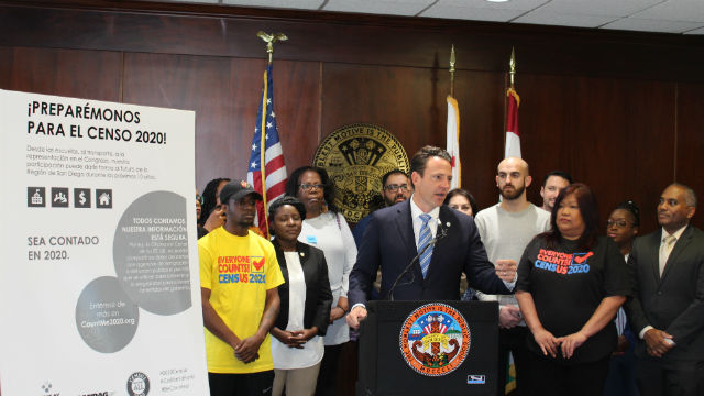 Nathan Fletcher announces 2020 Census Efforts