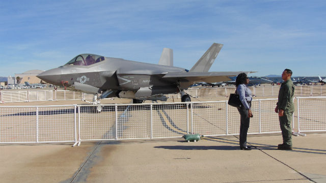 F-35C at Miramar