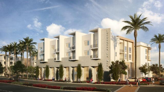 Rendering of Jefferson La Mesa apartments