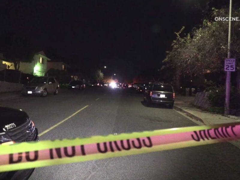Street in Lemon Grove where shooting occurred