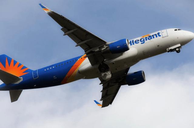 An Allegiant jetliner