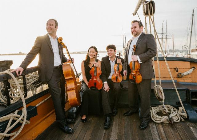 Hausmann Quartet at the Maritime Museum