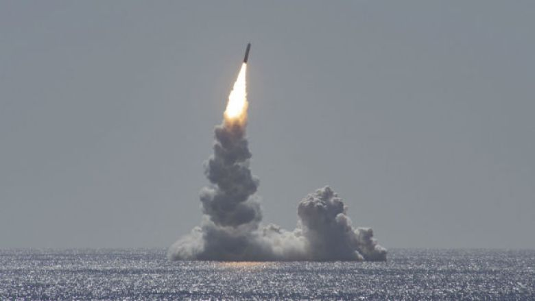 Trident II missile launch