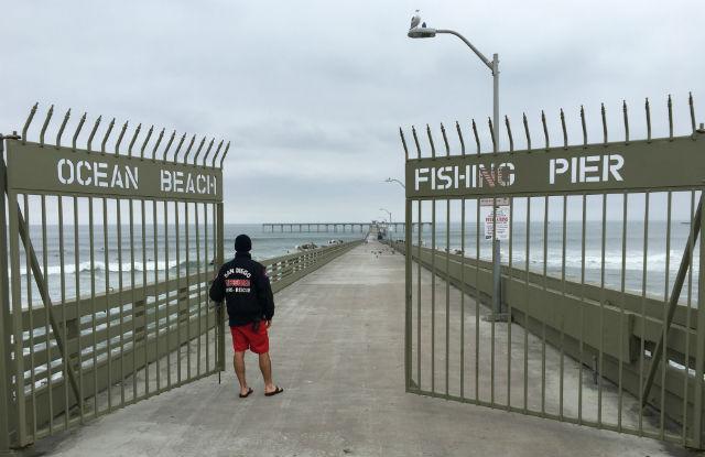 Lifeguard closes OB Pier