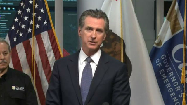 Gov. Gavin Newsom issues stay-at-home order