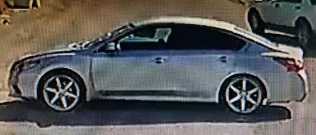 Suspect's Nissan Altima