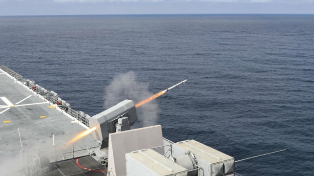 Rolling Airframe Missile