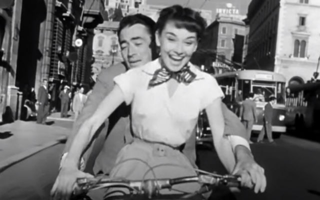 "Scene from ""Roman Holiday"""