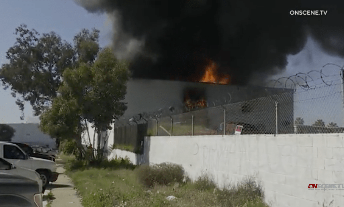 Barrio Logan fire