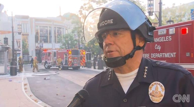 Los Angeles Police chief Michel Moore