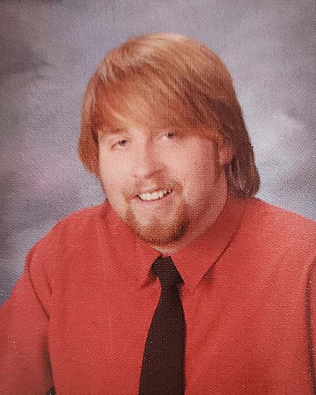 Dustin Hart's senior photo from the 2005 Santana High School yearbook.