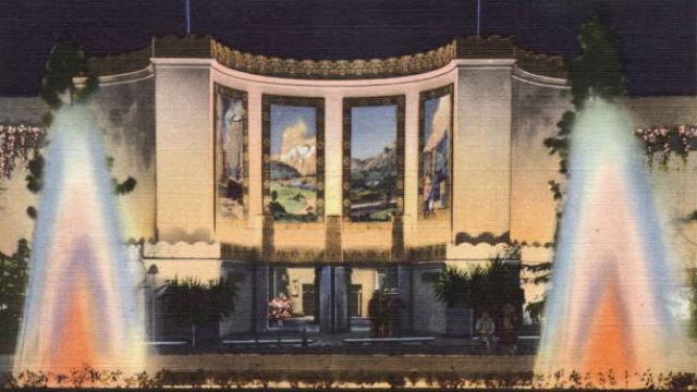 Auto Museum building in 1935