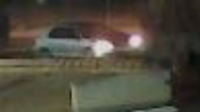 Surveillance image of suspect vehicle