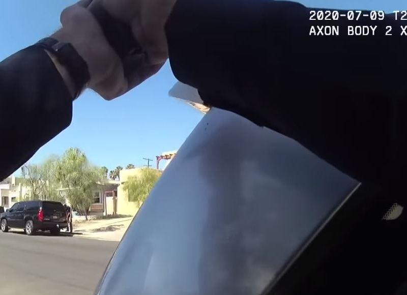 Police body camera image