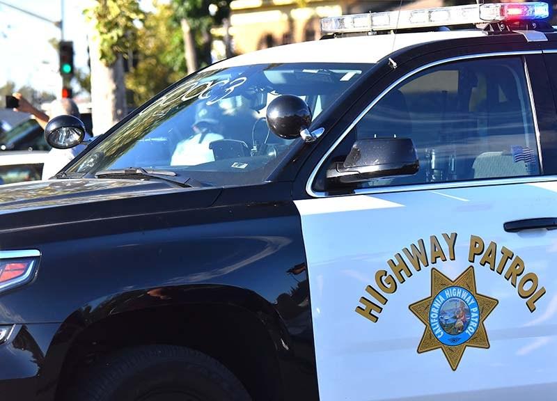 A California Highway Patrol cruiser