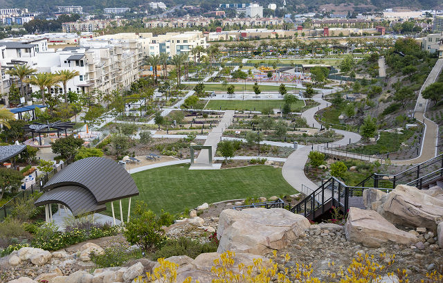 View of completed Civita Park