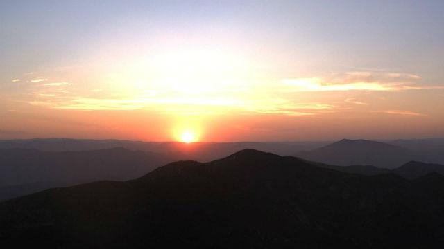 Otay Mountain sunrise