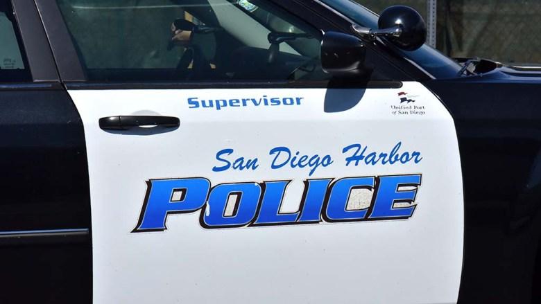 San Diego Harbor Police cruiser