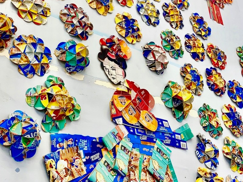 San Diego artists Asian folklore murals