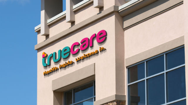 New TrueCare signage