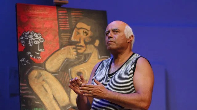 """Scene from """"A Weekend with Pablo Picasso"""""""