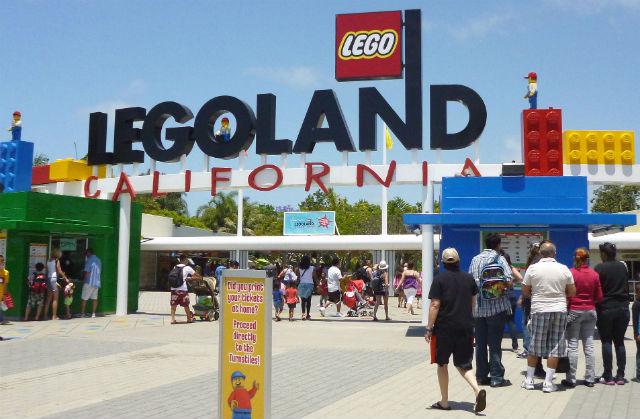 Entrance to Legoland California