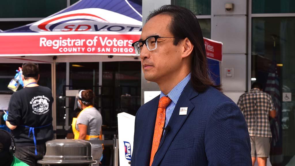 San Diego County Registrar of Voters Michael Vu explains election deadlines.