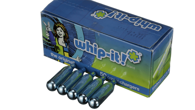 Company behind Whip-It! nitrous oxide cartridges will pay civil penalty. Image via webstaurantstore.com