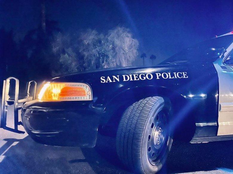 Police car patrol vehicle
