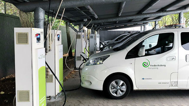 Nuvvee vehicle-to-grid installation