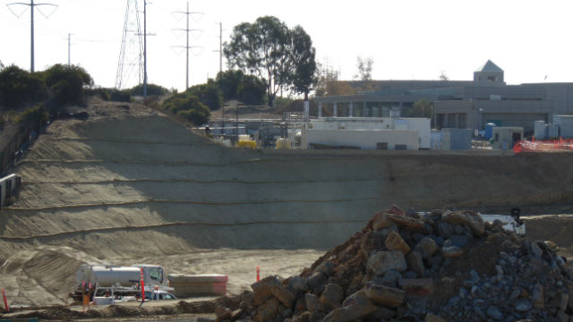 Site preparation for the Pure Water facility