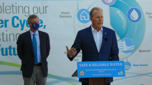 Scott Peters and Kevin Faulconer