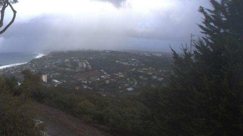 Rain over La Jolla Shores