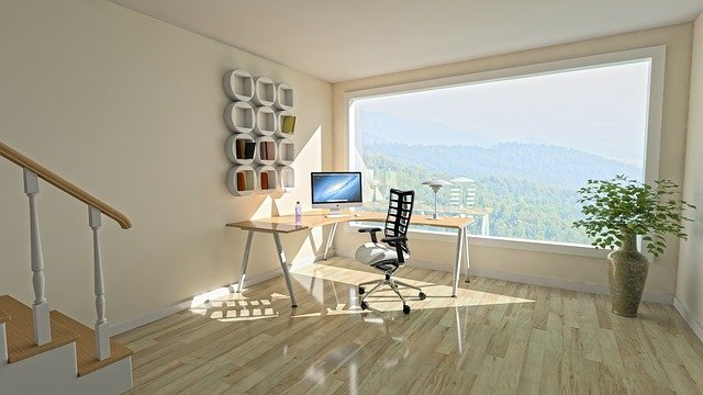 Remote home office