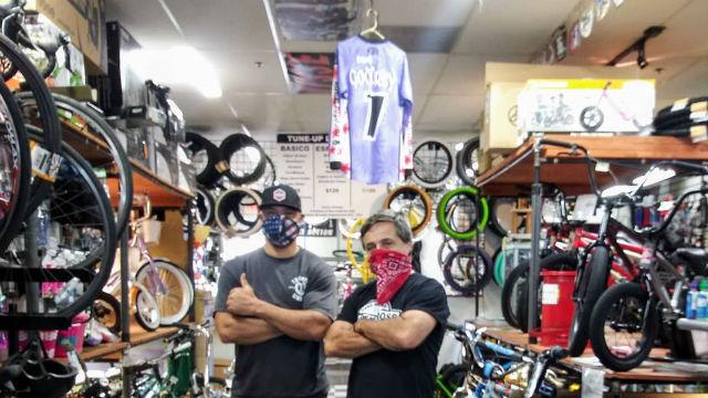 Bicycle shop in Oceanside