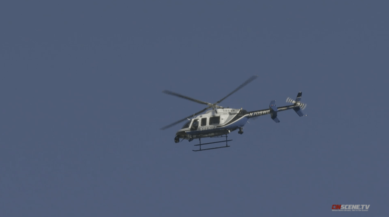 Sheriff's Department helicopter