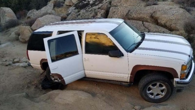 The Border Patrol says this SUV was part of Sunday's smuggling operation.