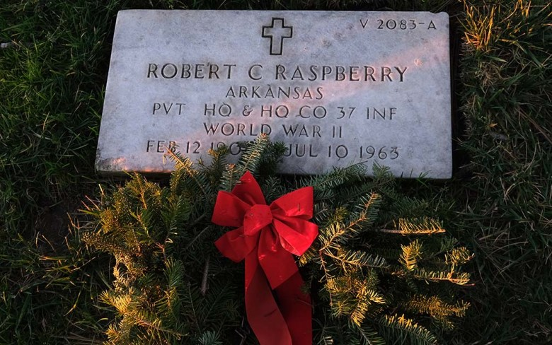 Over three days, 7,263 wreaths were laid at Fort Rosecrans National Cemetery.