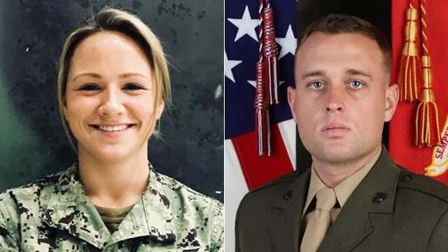 Petty Officer 3rd Class Lauren J. Singer of Naval Air Station North Island and Marine Sgt. Nolan P. McShane of Camp Pendleton will be honored this week.