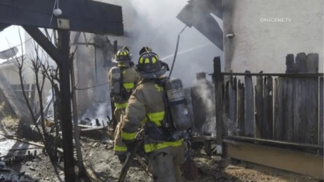 Bay Terraces House Fire