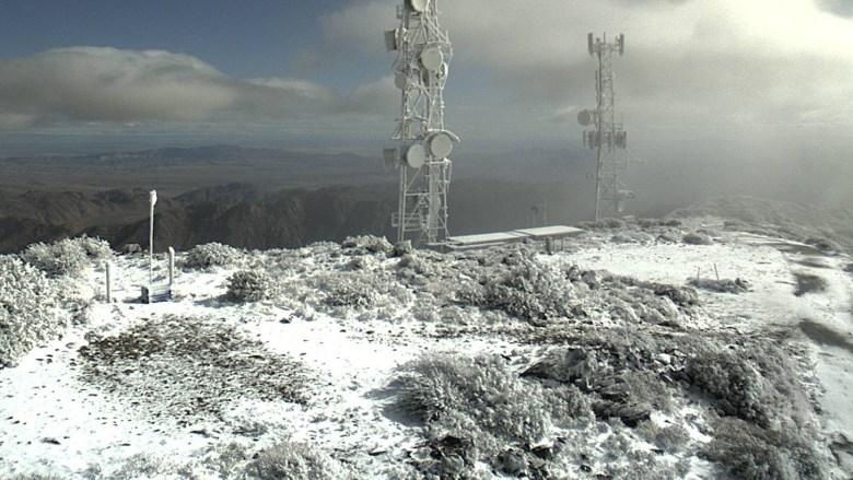 Snow on Mt. Laguna