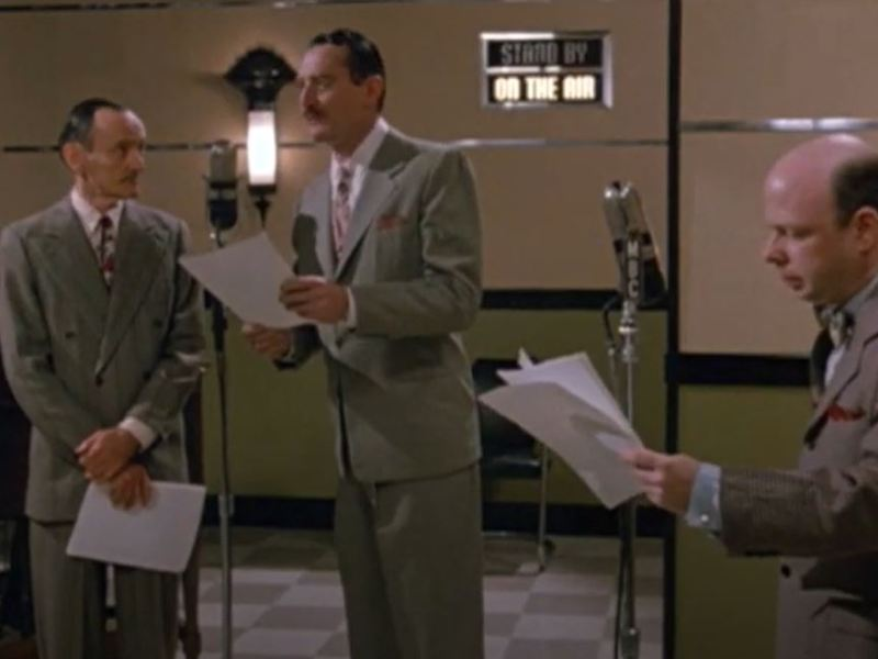 """A scene from """"Radio Days"""""""