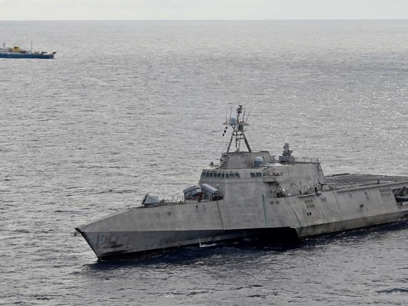 USS Gabrielle Giffords on patrol