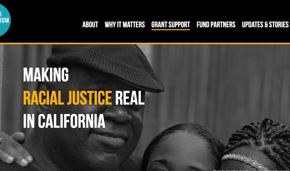 Systemic racism California philanthropy