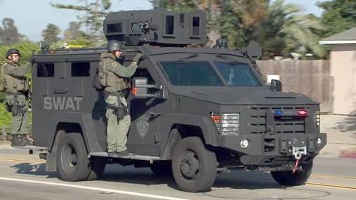 Chula Vista Police SWAT unit