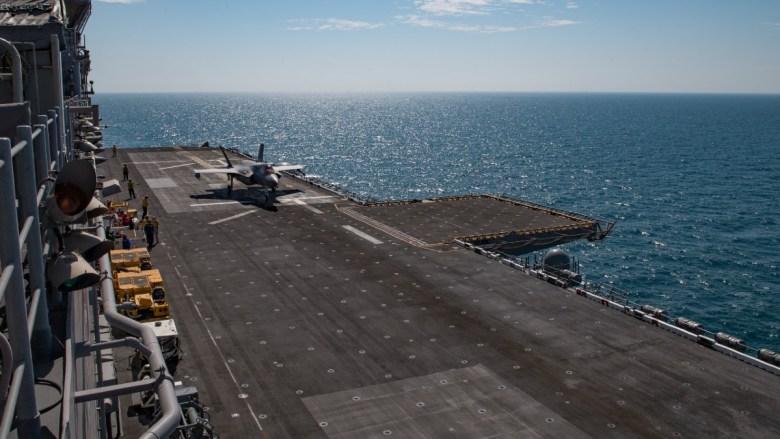 F-35B on the USS Makin Island
