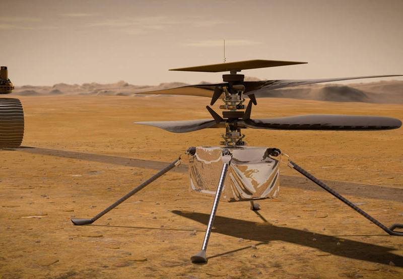 Mars Ingenuity helicopter