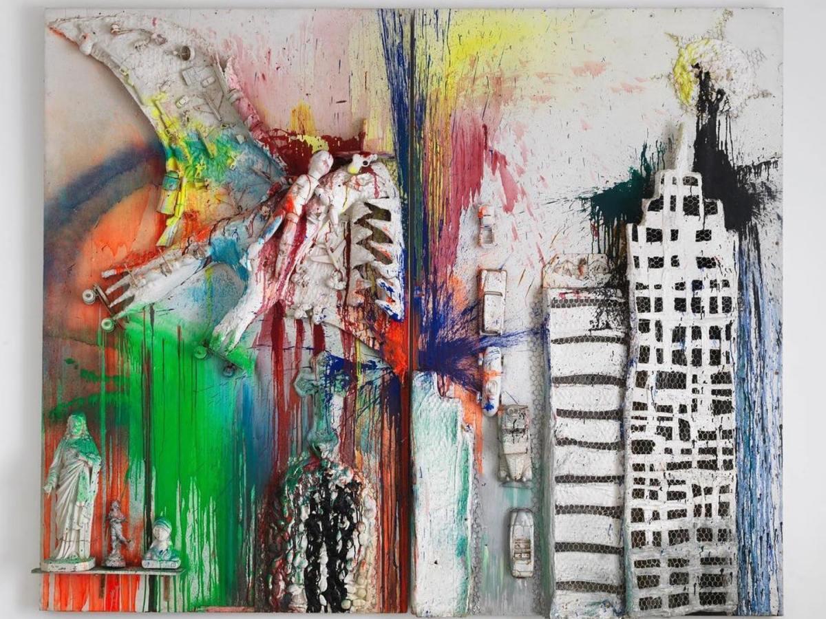 Painting by Niki de Saint Phalle
