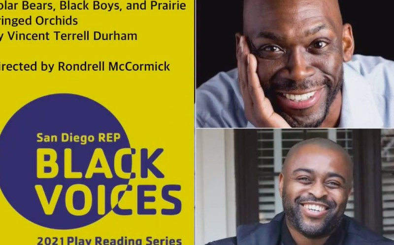 San Diego theater playwrights Black