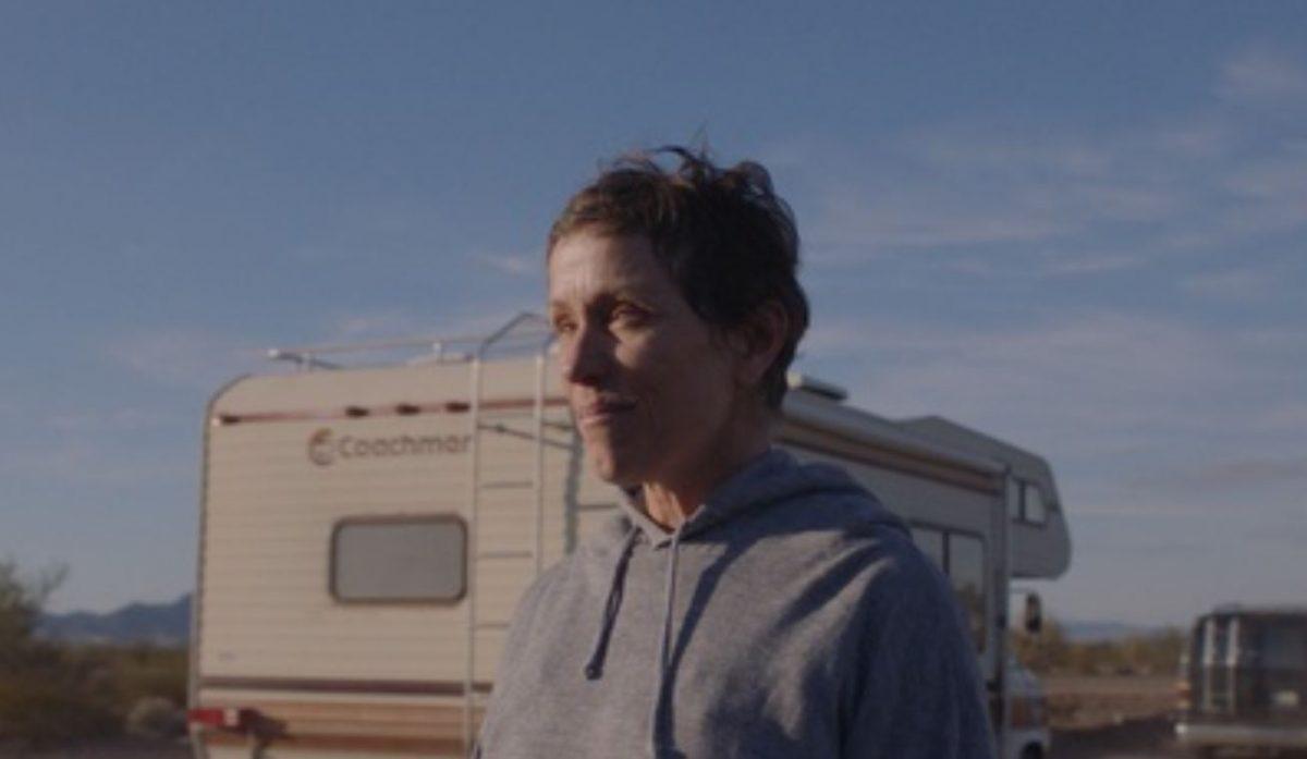 """Frances McDormand in """"Nomadland"""""""